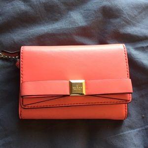 Small Kate spade pink wallet
